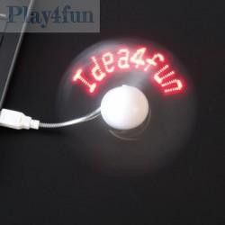 Wiatrak LED z USB / wentylator LED z USB